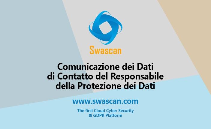Comunicazione dei Dati di Contatto del Responsabile della Protezione dei Dati