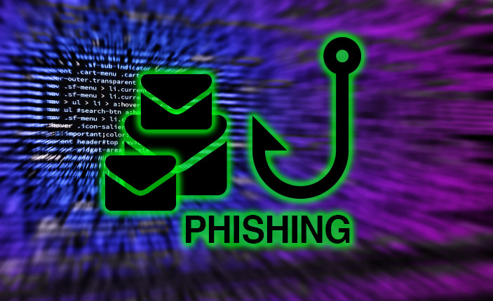 Phishing simulation attack